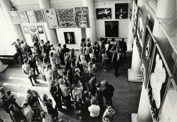 Экспозиция в ДК ВДНХ. 1975 год.