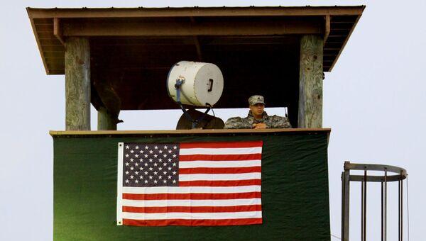 Внешний периметр охраны Гуантанамо. Архив