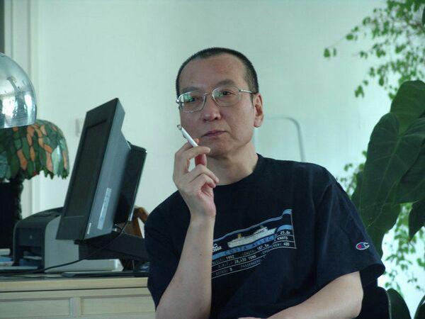 Лауреат Нобелевской премии мира 2010 года Лю Сяобо
