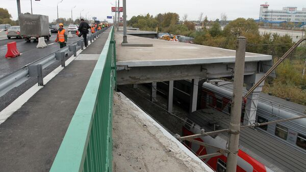 Путепровод на 24-м километре Ленинградского шоссе