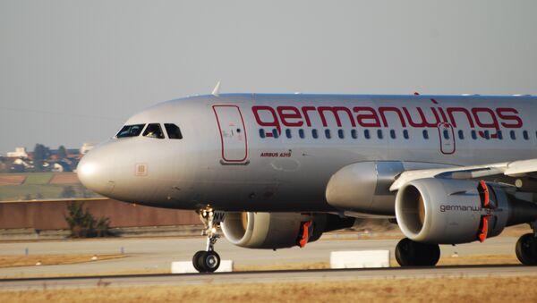 Самолет A319 авиакомпании Germanwings. Архив