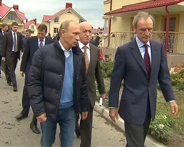 Путин провел экскурсию для делегации МОК по олимпийским объектам Сочи