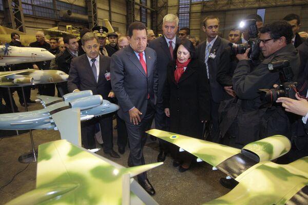 Президент Венесуэлы Уго Чавес прибыл на Украину