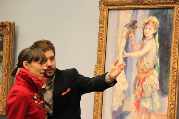 Выставка работ Ренуара открылась в Музее Прадо