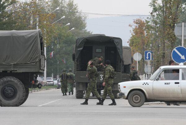 Спецоперация в Чечне. Архив