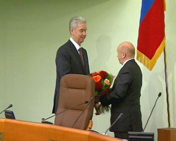 Собянин сдержанно поблагодарил проголосовавшую за него Мосгордуму