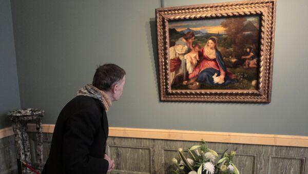Открытие выставки из цикла Шедевры музеев мира в Эрмитаже