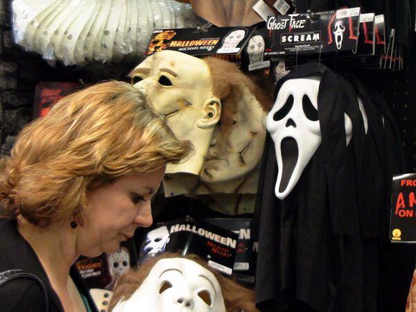 Нью-Йорк готовится к празднованию Хеллоуина