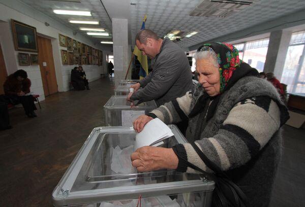 Выборы в местные органы власти Украины