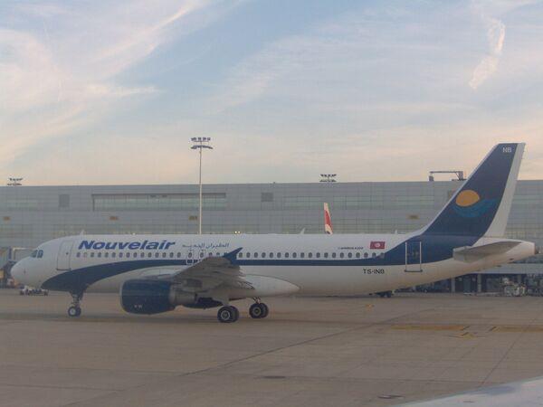 Лайнер авиакомпании Nouvelair