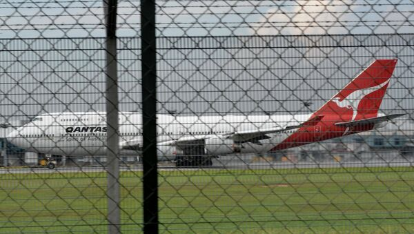 Самолёт авиакомпании Qantas. Архивное фото