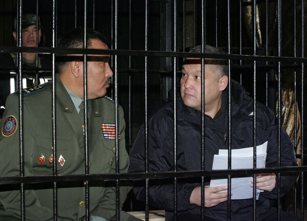 Суд над обвиняемыми в расстреле митингующих в Киргизии