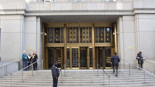 Вход в здание федерального суда. Архивное фото