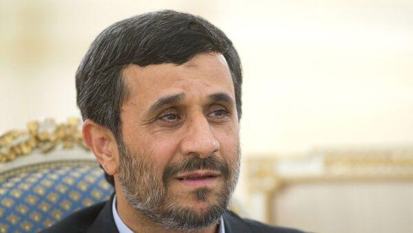 Президент Ирана Махмуд Ахмадинежад. Архив.