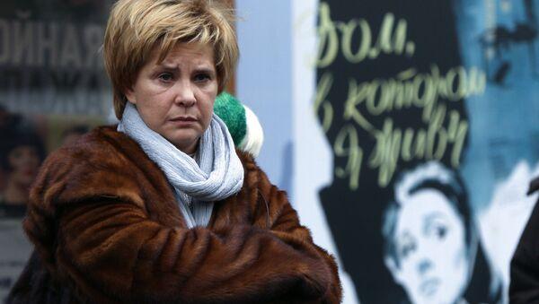 Актриса Татьяна Догилева. Архив