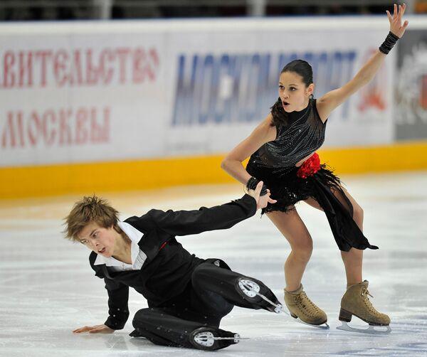 Елена Ильиных и Никита Кацалапов