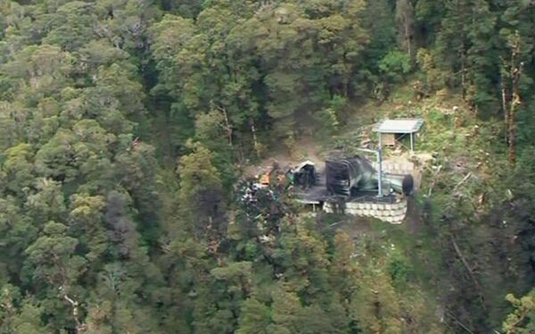 Шахта на острове Южный в Новой Зеландии, где в результате взрыва погибли 29 горняков