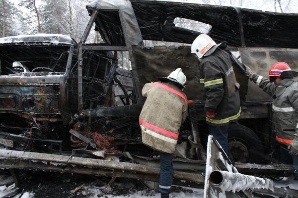 ДТП на Горьковском шосе в Подмосковье
