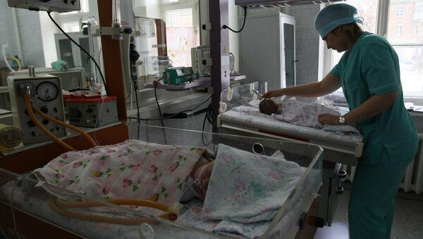 Детская городская клиническая больница №1 в Новосибирске, архивное фото