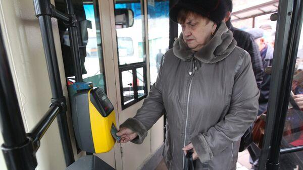 Общественный транспорт. Архивное фото