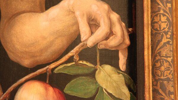 Альбрехт Дюрер. Диптих «Адам и Ева». Ева. 1507. Прадо. Мадрид