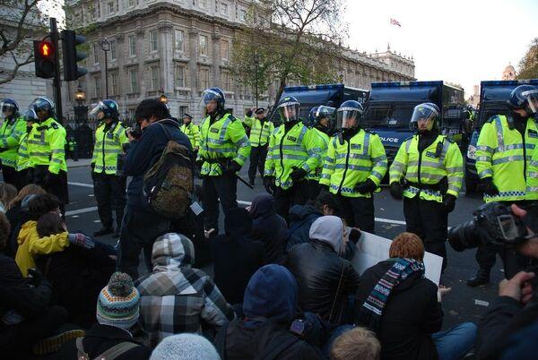 Студенческие беспорядки в Лондоне