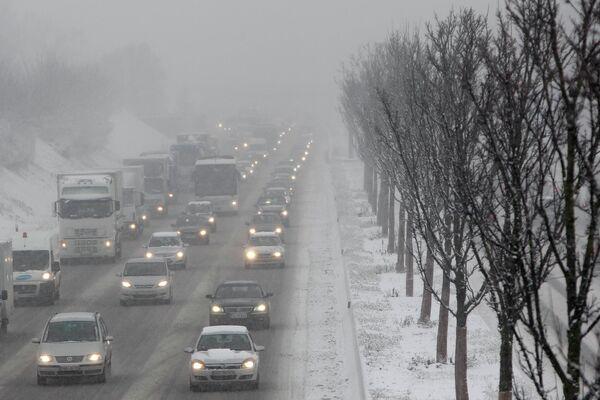 Снегопады В Германии
