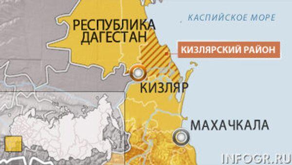 Кизляр. Дагестан. Карта