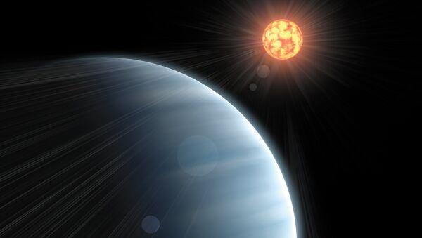Астрономы впервые измерили параметры атмосферы экзопланеты, похожей на Землю, архив
