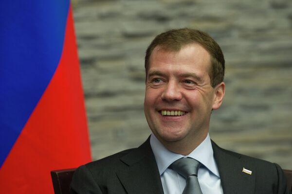 Президент РФ Д.Медведев и премьер-министр Италии С.Берлускони встретились в Красной поляне