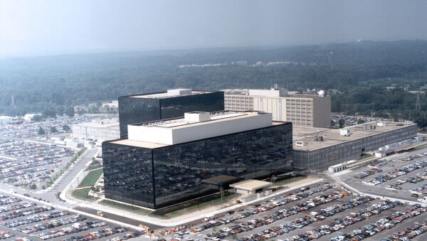 Здание Агентства национальной безопасности (АНБ) в США. Архивное фото.