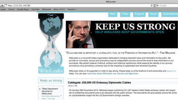 Российская Пиратская партия создала зеркало сайта WikiLeaks