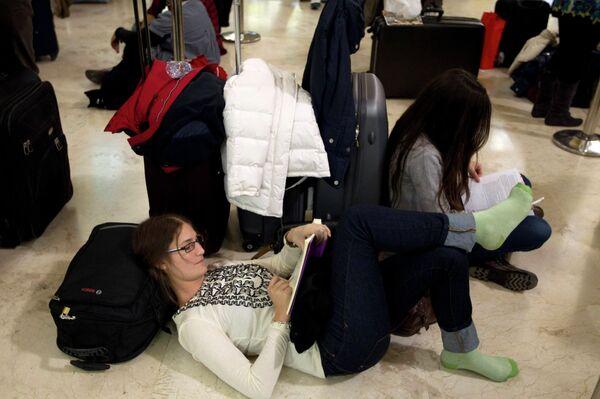 Забастовка авиадиспетчеров в Испании. Ситуация в испанских аэропортах.