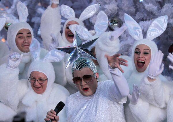 Концерт Песня года 2010 в спорткомплексе Олимпийский