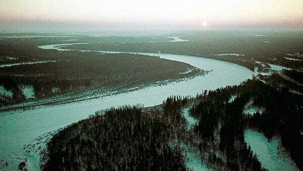 Пейзаж Ямало-Ненецкого национального округа. Архивное фото