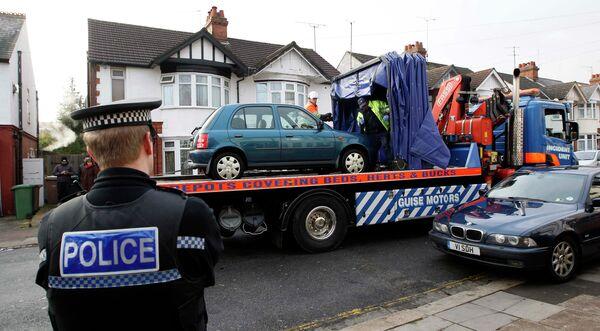 Британская полиция произвела обыск в одном из домов города Лутон в графстве Бедфордшир в рамках расследования взрывов в Стокгольме