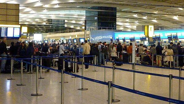 Отмена рейсов в аэропорту Хитроу
