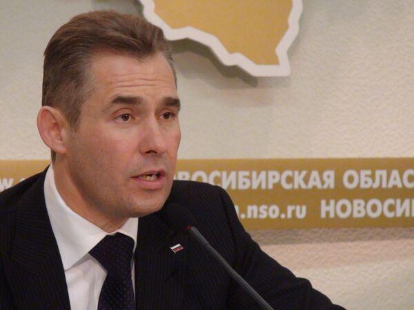 Уполномоченный по правам ребенка при президенте России Павел Астахов в Новосибирске