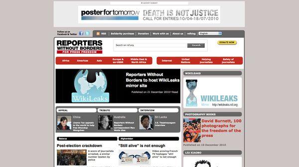 Скриншот страницы сайта en.rsf.org