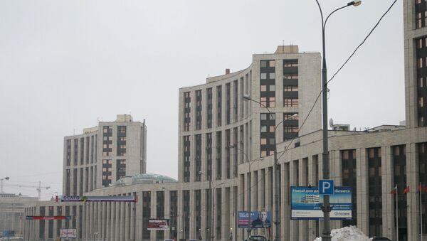 Здание Внешэкономбанка. Архив