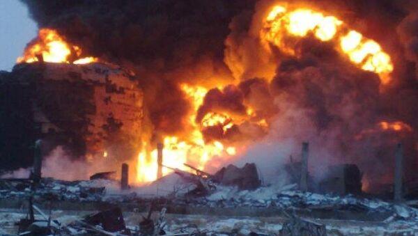 Взрыв на строящемся нефтеперерабатывающем заводе в Забайкалье
