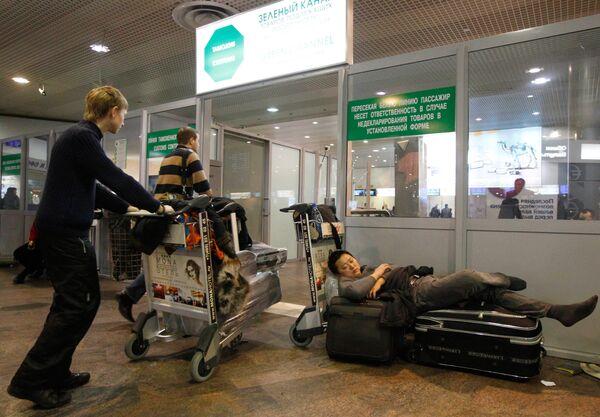 Ситуация с вылетами рейсов Аэрофлота в аэропорту Шереметьево