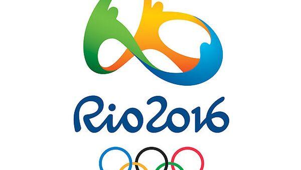 Логотип Олимпиады-2016 в Рио-де-Жанейро