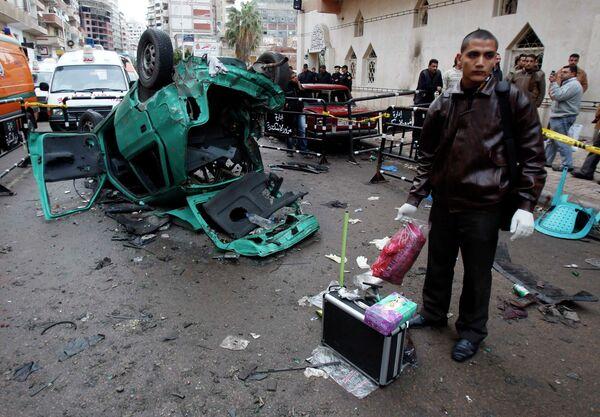 Взрыв у церкви в египетском городе Александрия