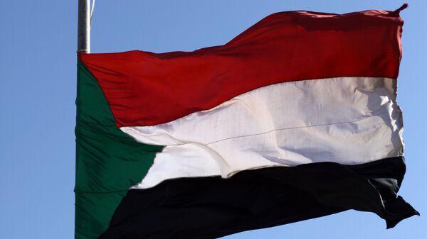 Флаг Судана. Архивное фото