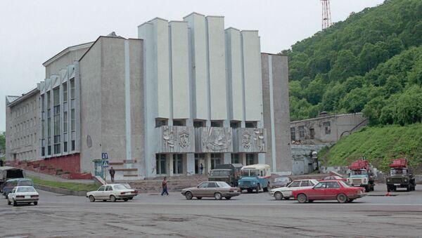 Здание театра в Петропавловске-Камчатском