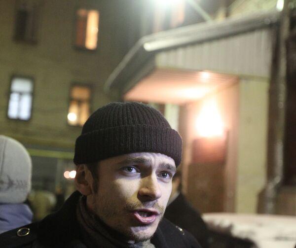 Член бюро политсовета движения Солидарность Илья Яшин