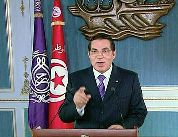 Экс-президент Туниса Зин аль-Абидин бен Али
