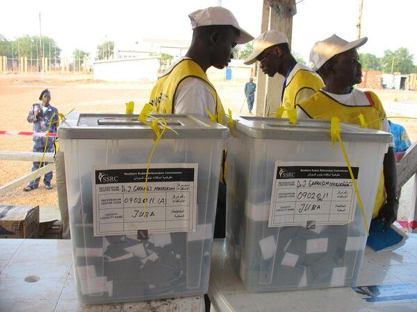 В Судане завершился референдум об отделении юга страны