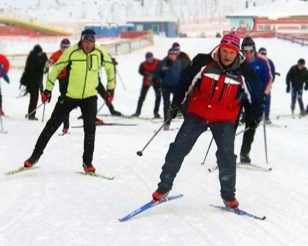 Губернатор Ярославской области стал лыжником накануне этапа Кубка мира FIS